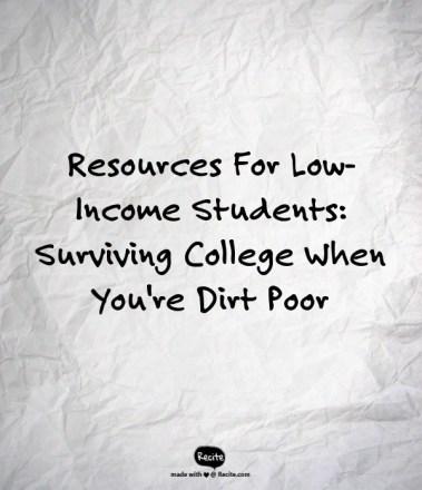 dirt poor
